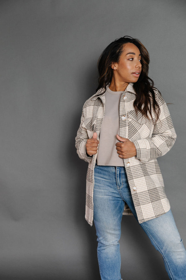 Chantel Flannel Jacket