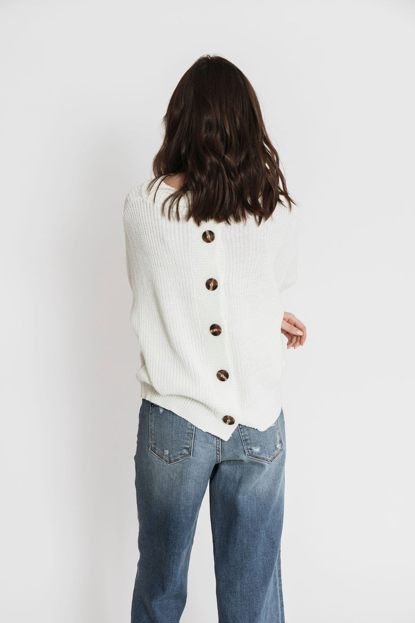 Citrus Sweater in Cream