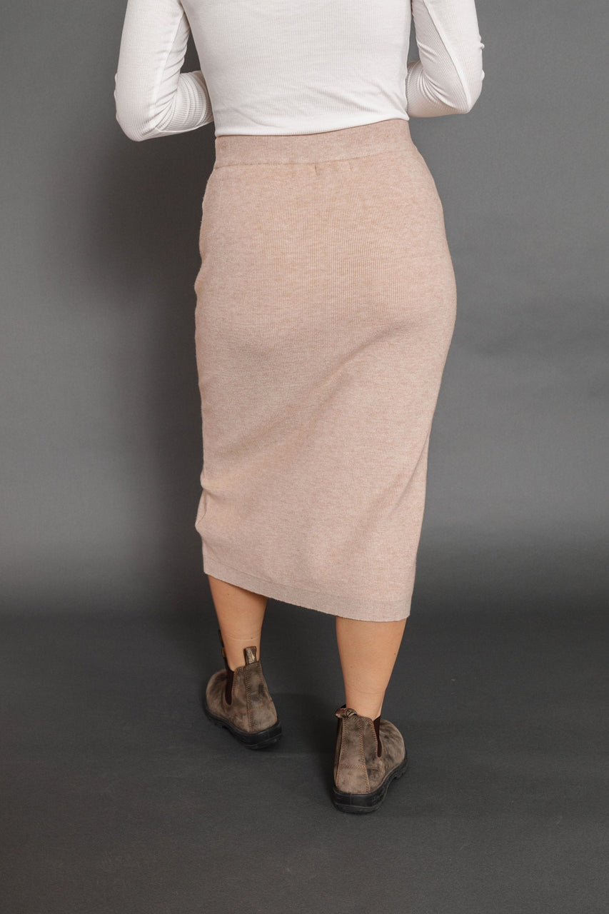 Clara Skirt in Oatmeal