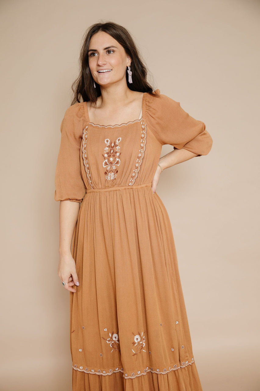 Ella Dress in Earthen