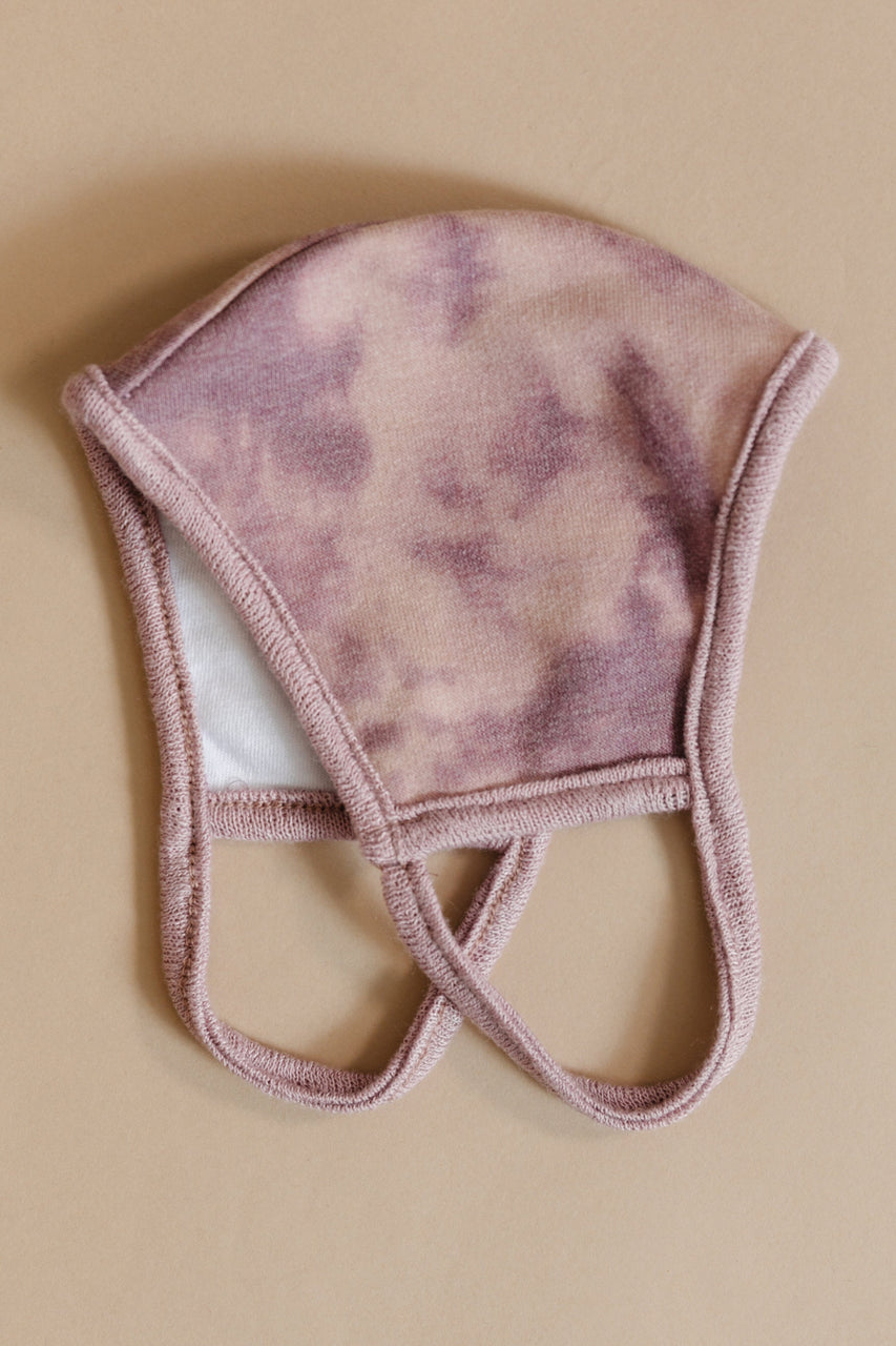 Face Mask Tie Dye in Mauve