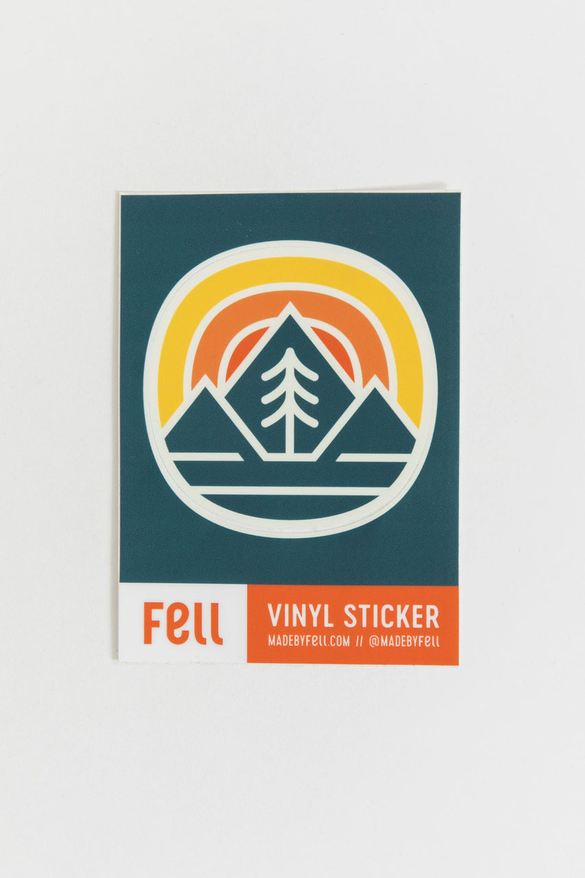 Fell Vinyl Sticker