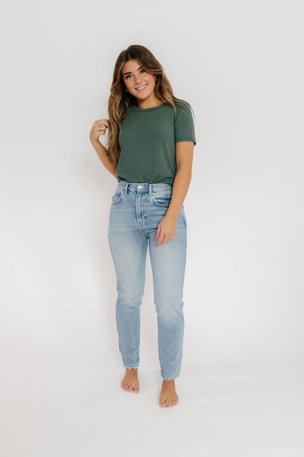 Free People Stovepipe Denim