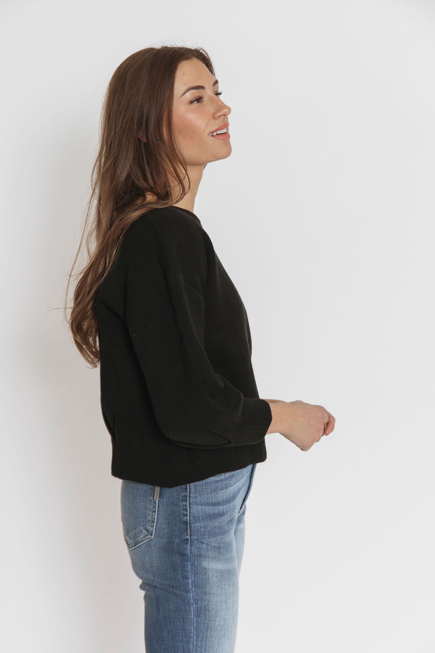 Gabby Sweater in Black