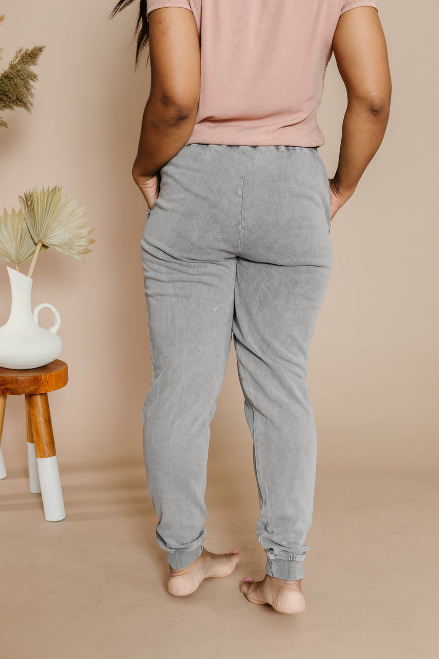 Jayson Jogger Pant in Grey