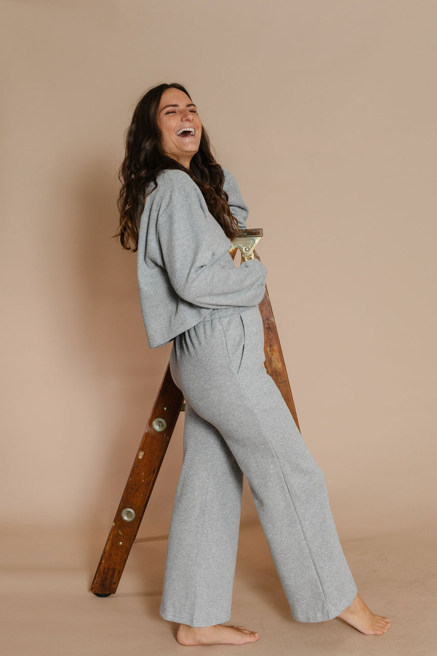 Jorrie Set in Heather Grey