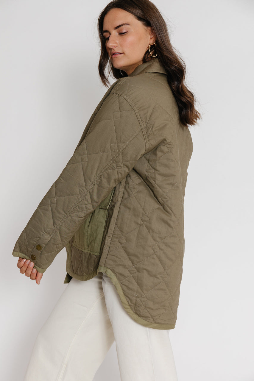 Judy Jacket in Olive
