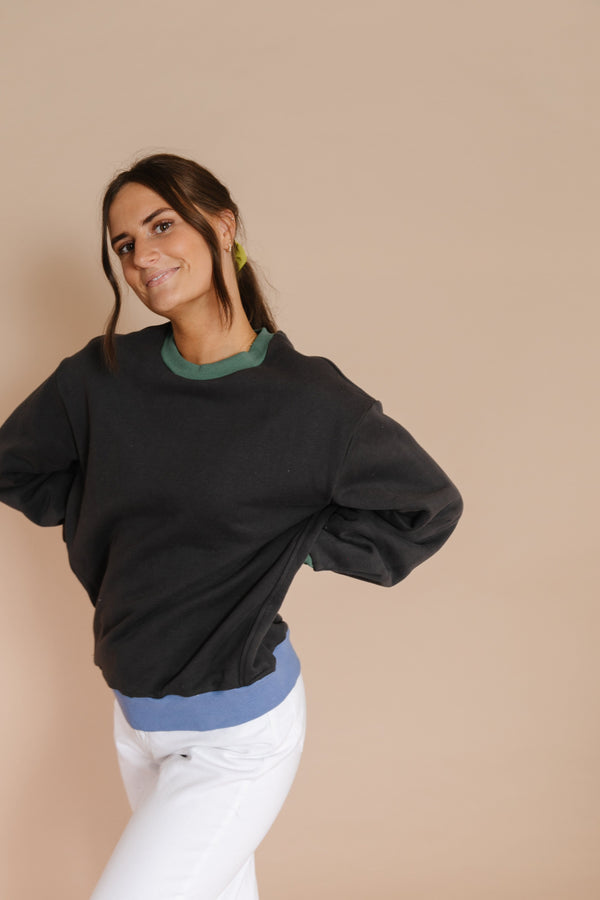 Kori Sweatshirt in Charcoal