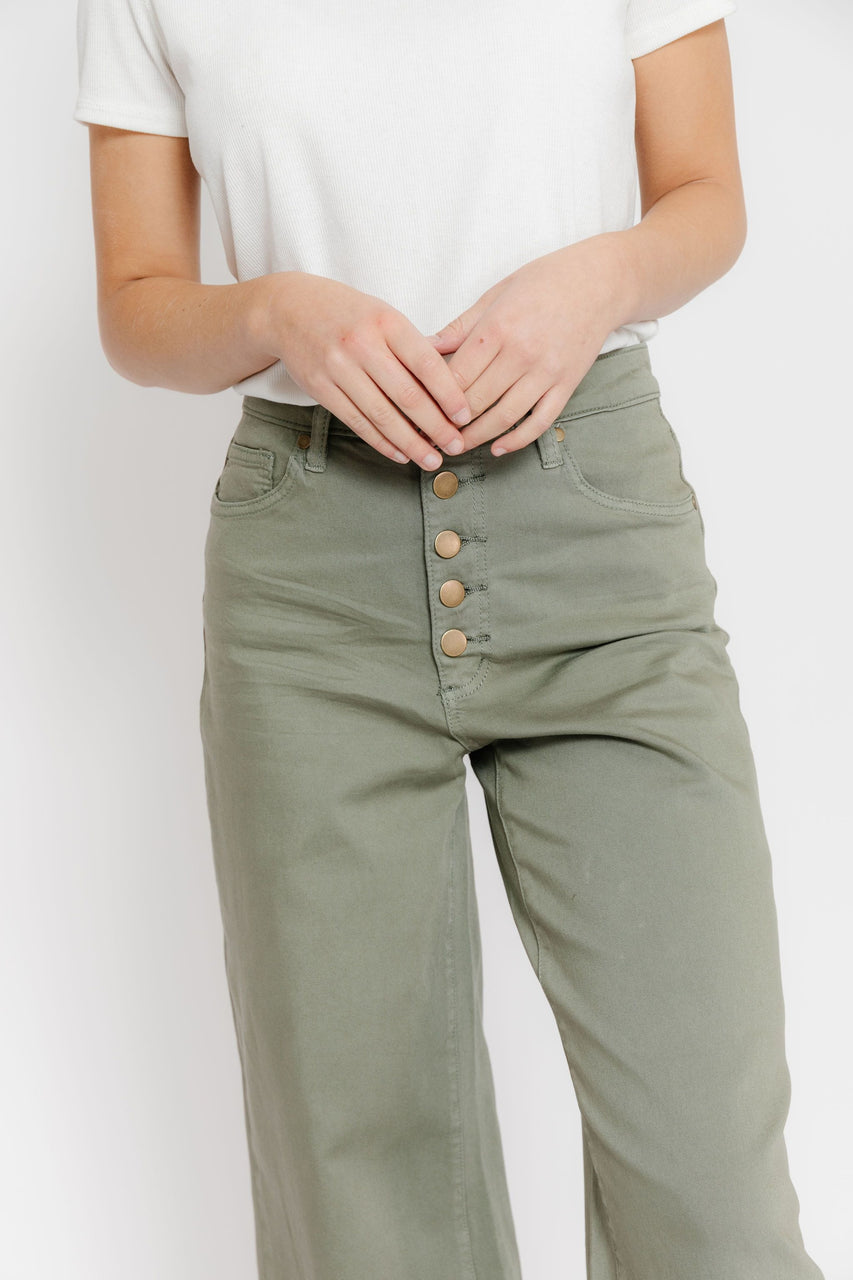 Going For A Walk Pant in Faded Olive