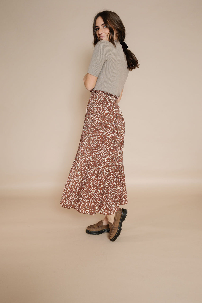 Linda Skirt in Coffee