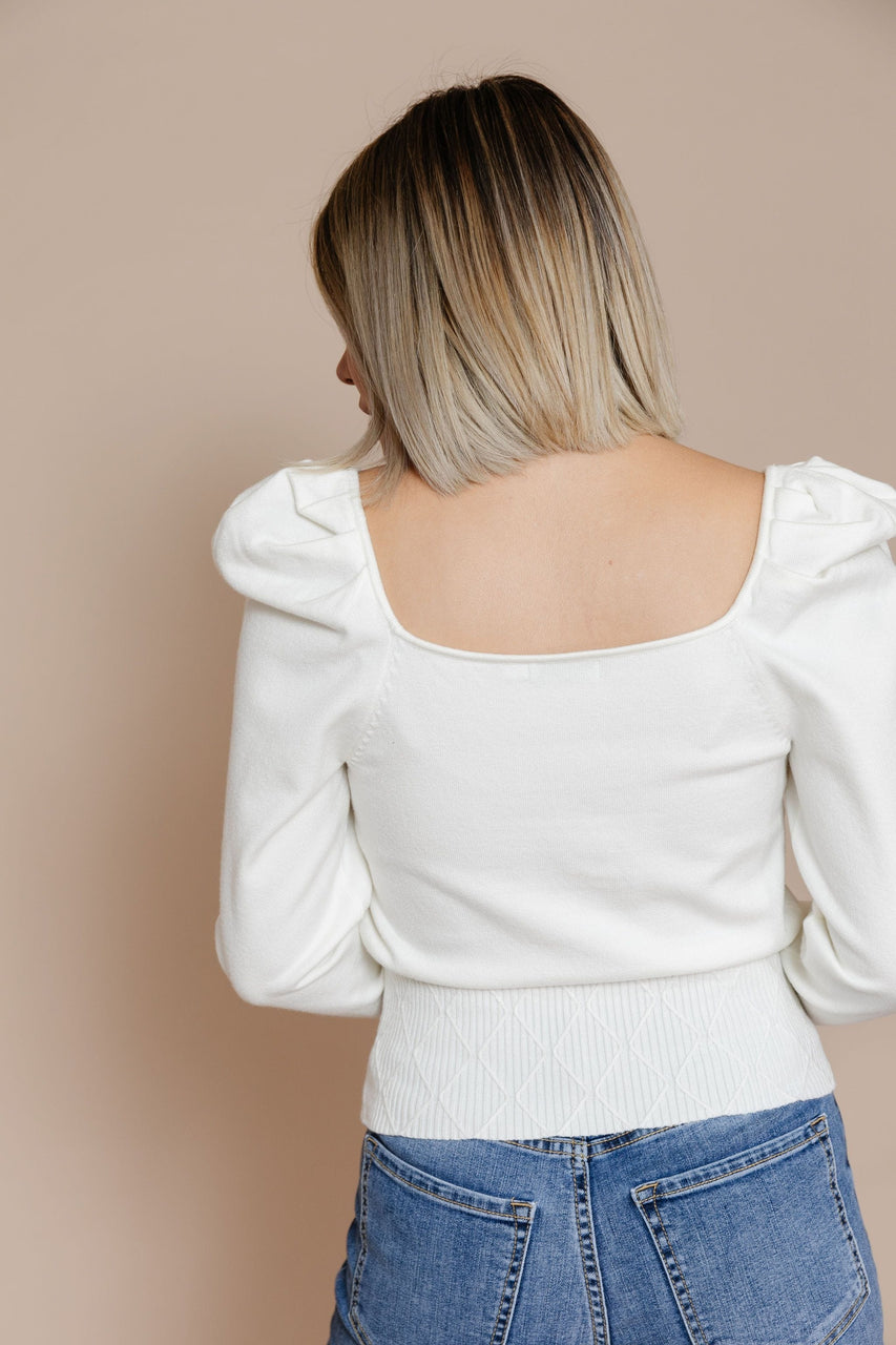 Lorelai Sweater in Off White