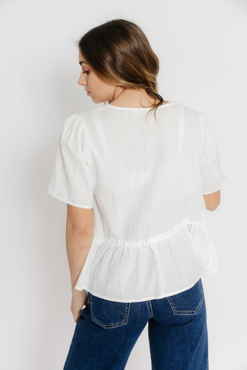 Maddie Blouse in Off White