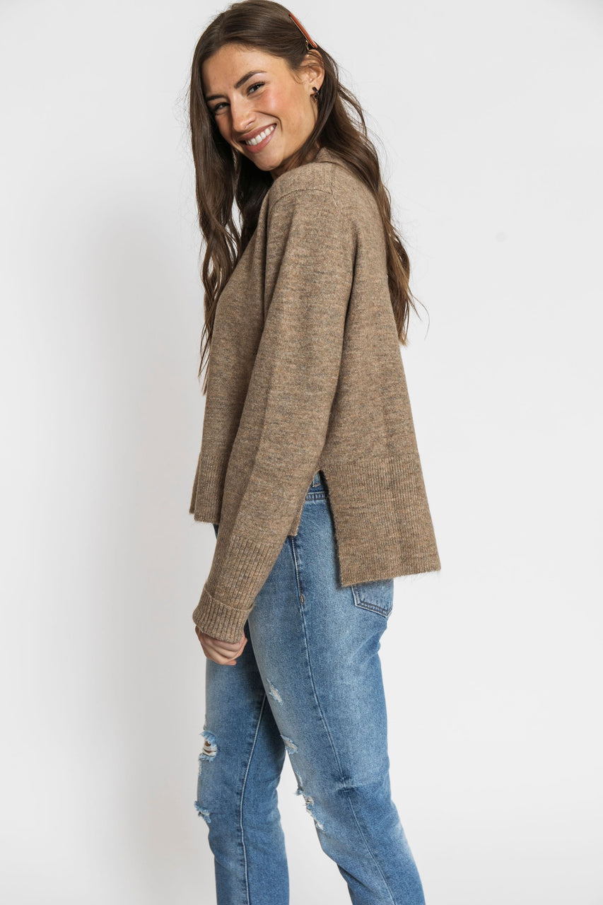 Marevic Sweater in Mocha