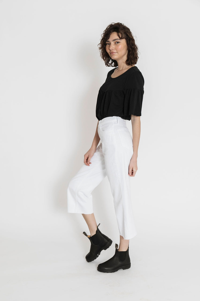 MaryAnn Denim in White