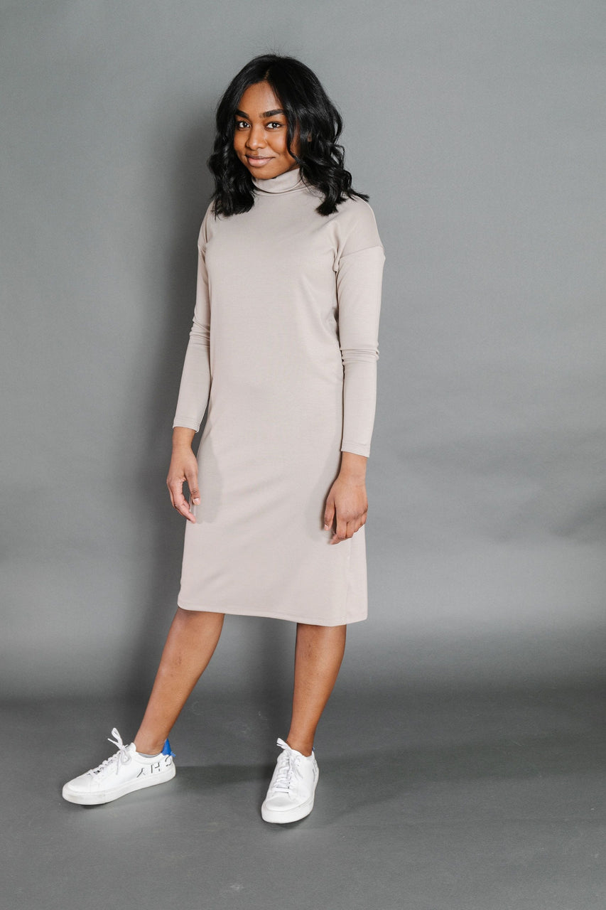 Maureen Dress in Khaki