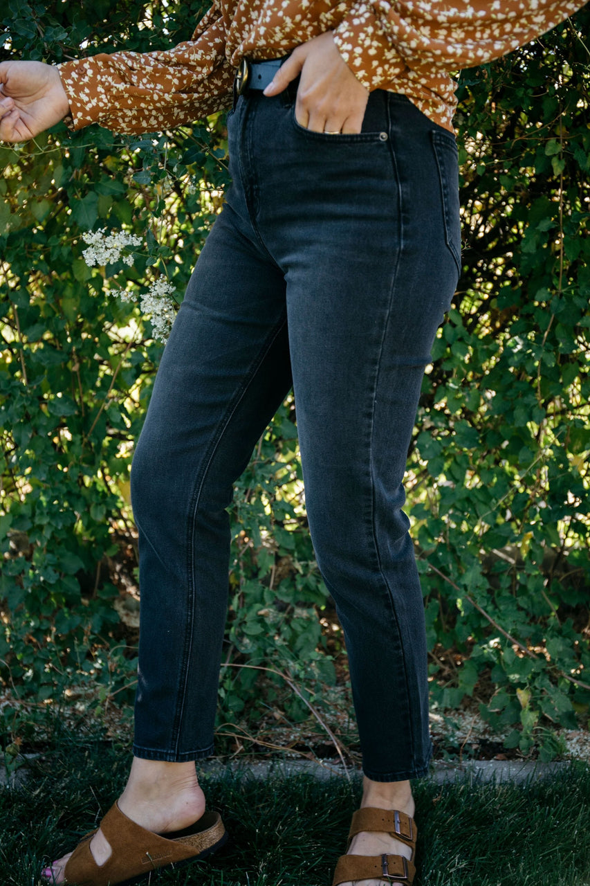 Michelle Denim Black