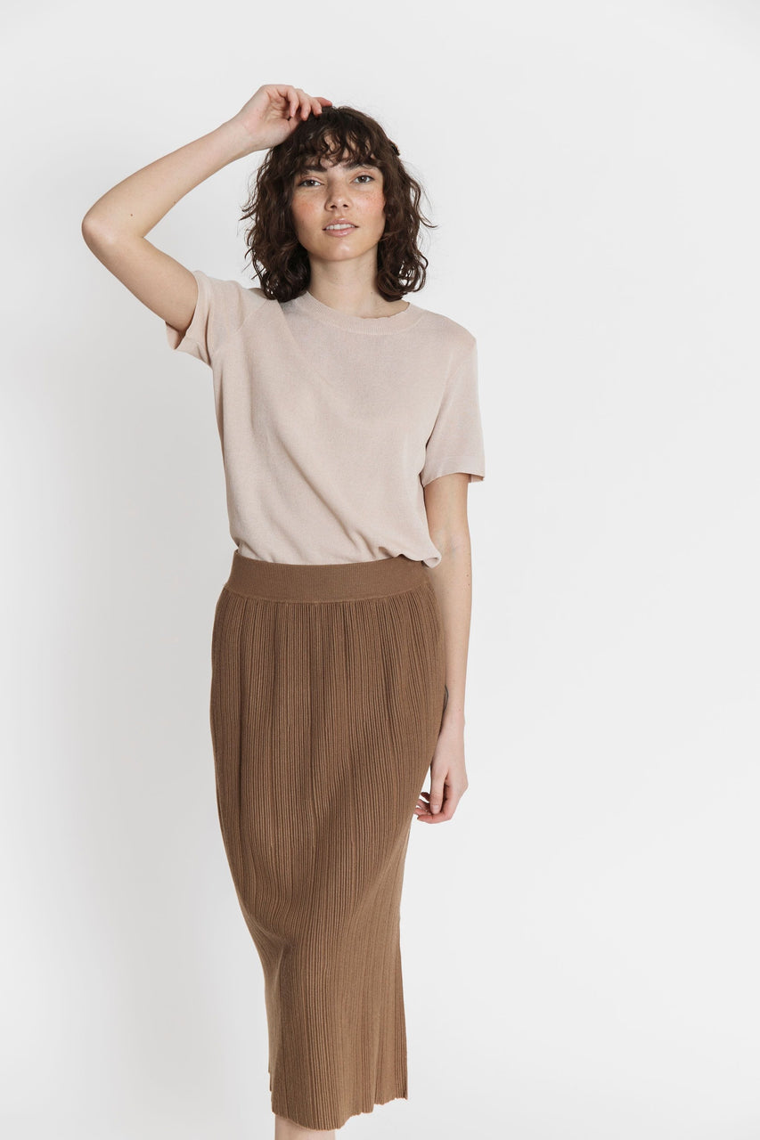 Miley Skirt in Brown
