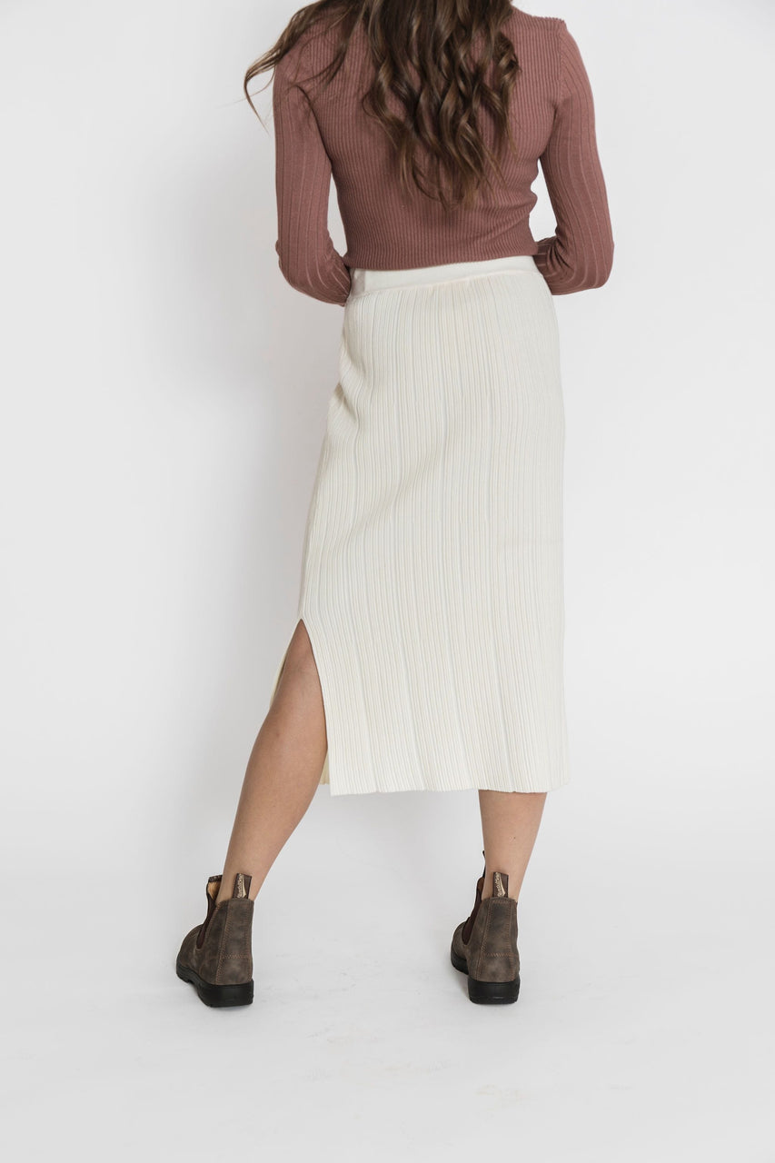 Miley Skirt in Cream