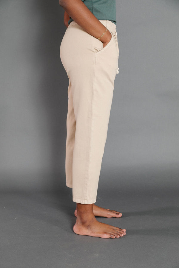 Nat Pant in Khaki