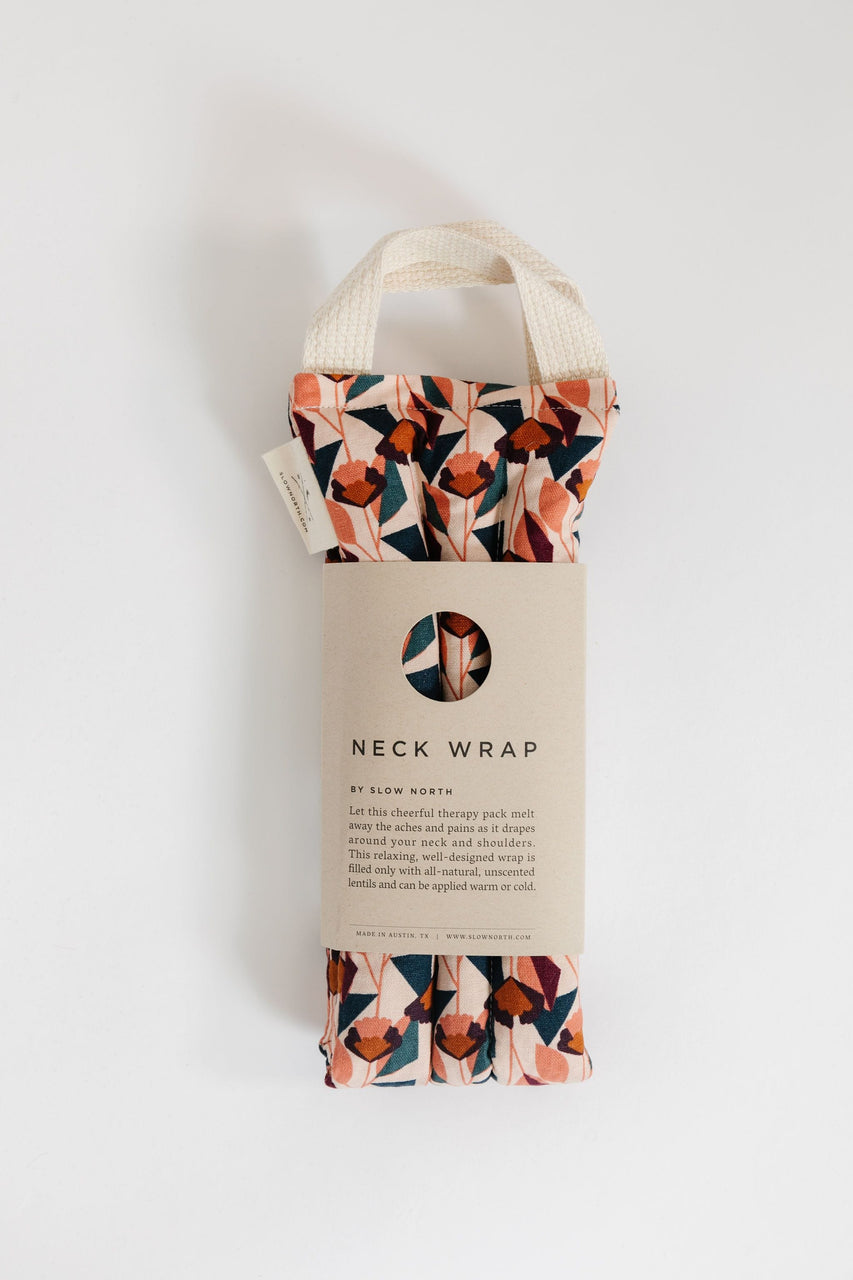 Neck Wrap Therapy Pack in Blush Florence