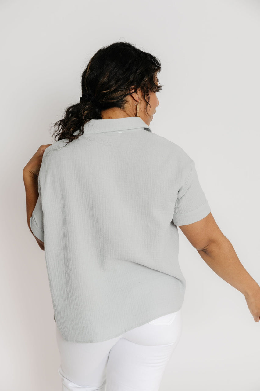 Palmer Top in Baby Blue