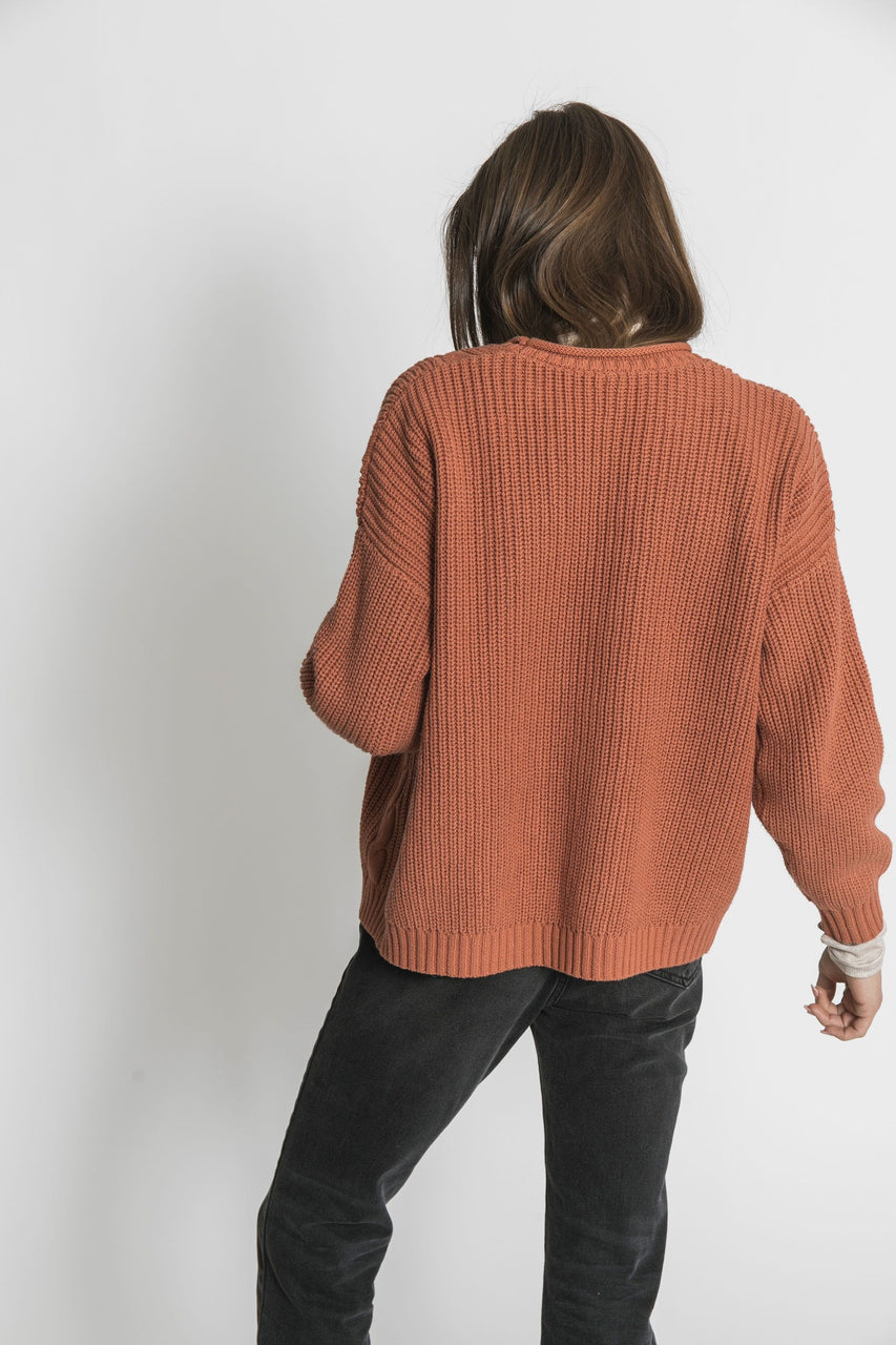 Paloma Cardigan in Copper