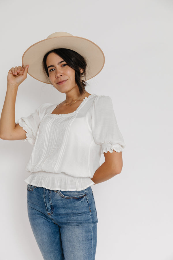 Remy Blouse in Off White