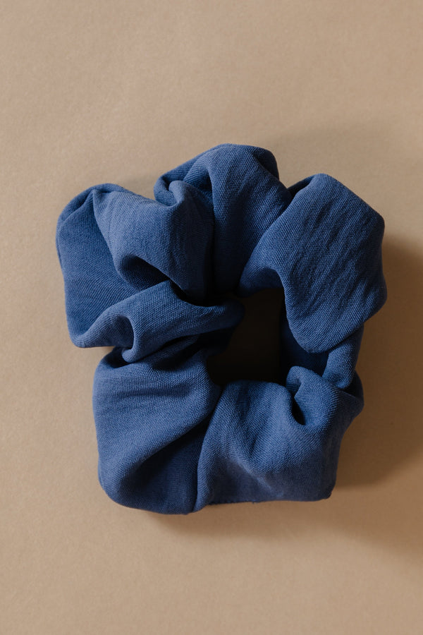 Slate Blue Scrunchie
