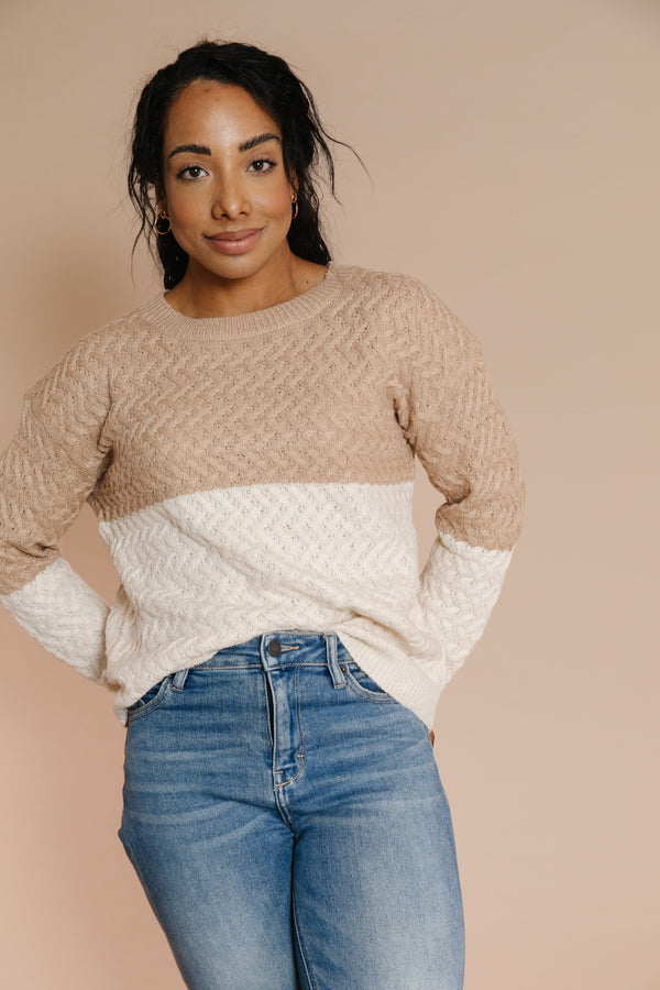 Sharee Sweater in Cocoa