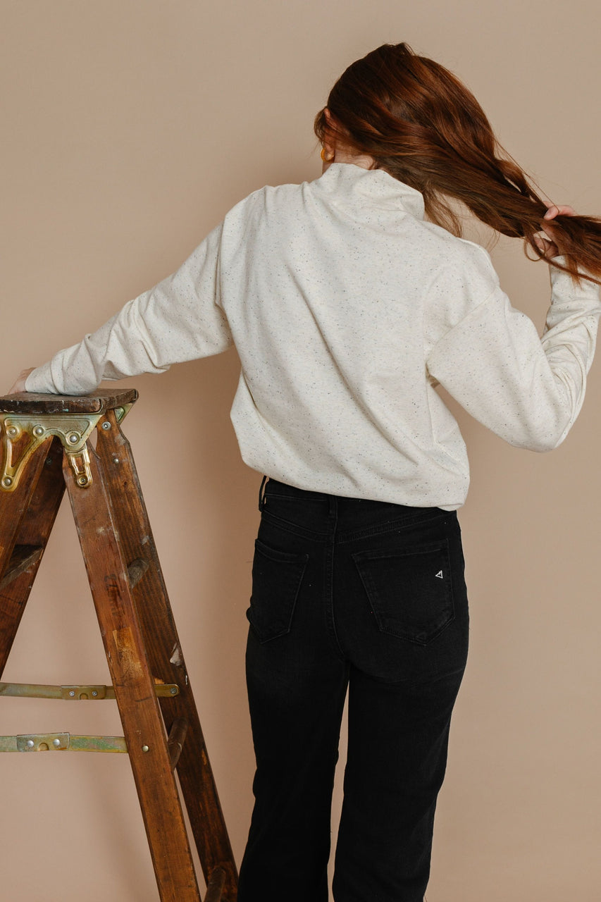 Shirley Turtleneck in Cream