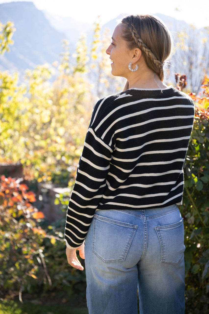 Sierra Sweater in Black