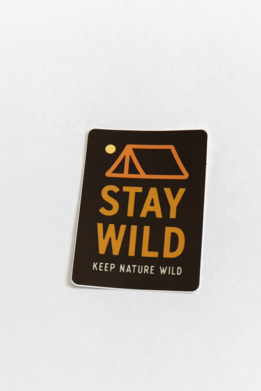 Stay Wild Vinyl Sticker