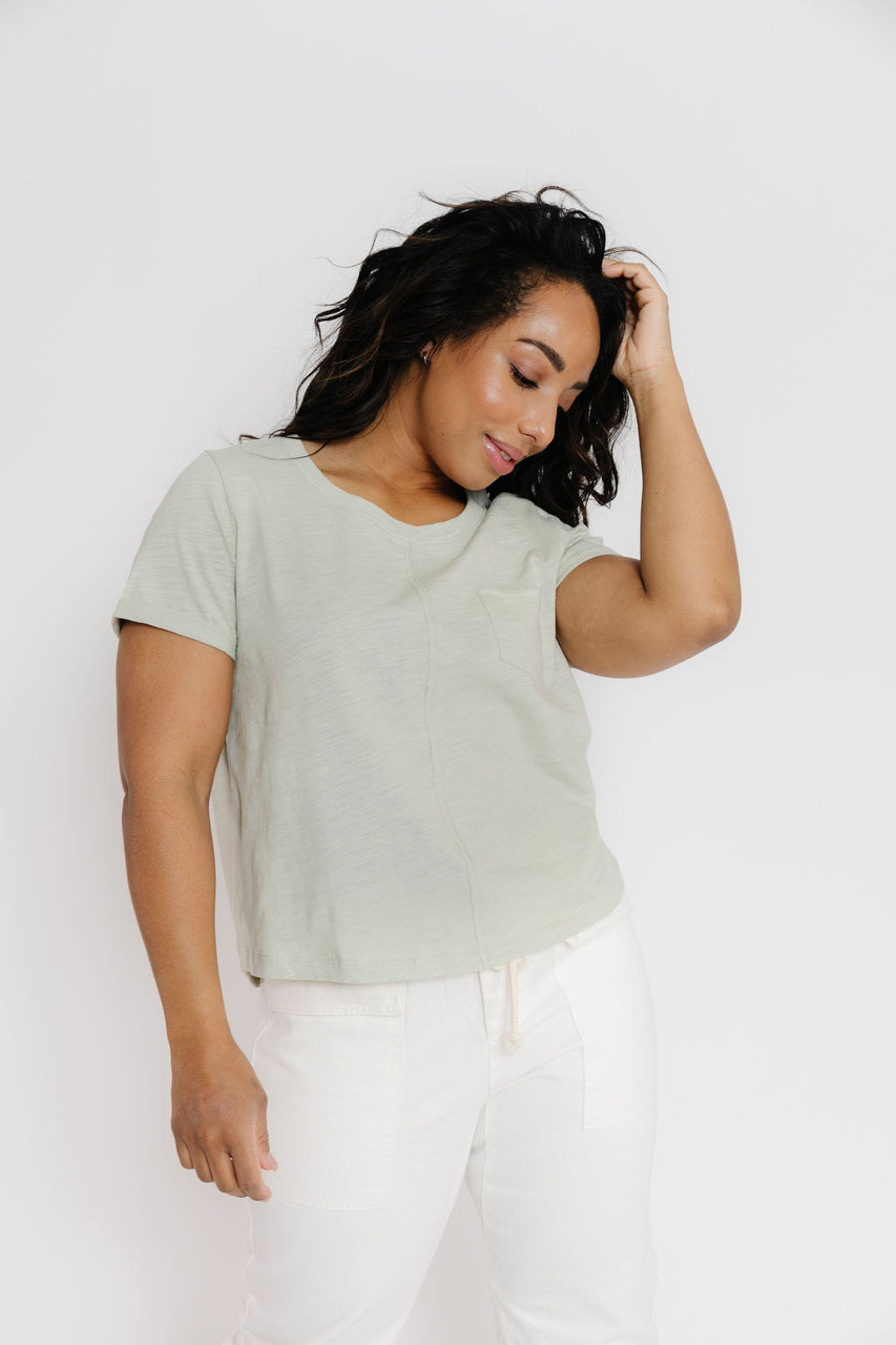 Tallie Tee in S. Olive