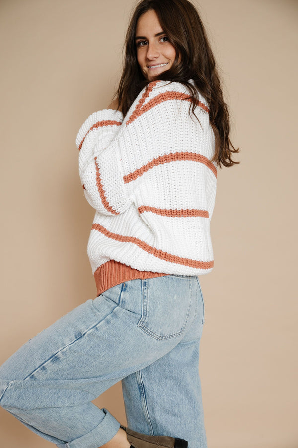 Tiana Sweater in Cream
