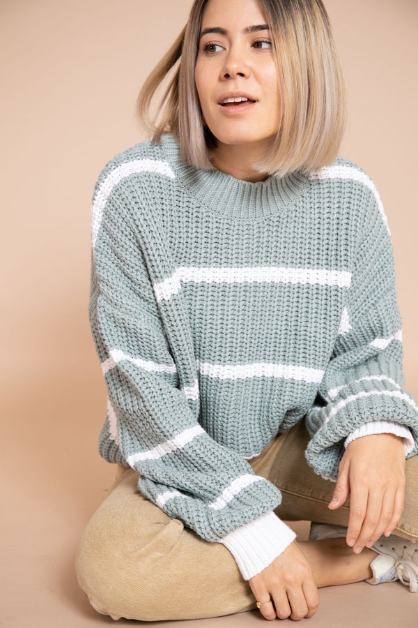 Tiana Sweater in Sage