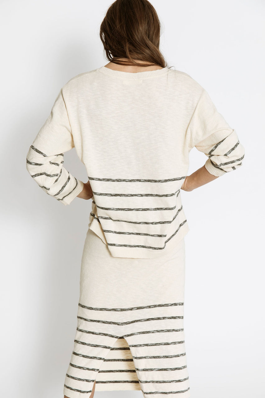 Tierra Sweater Tee in Natural