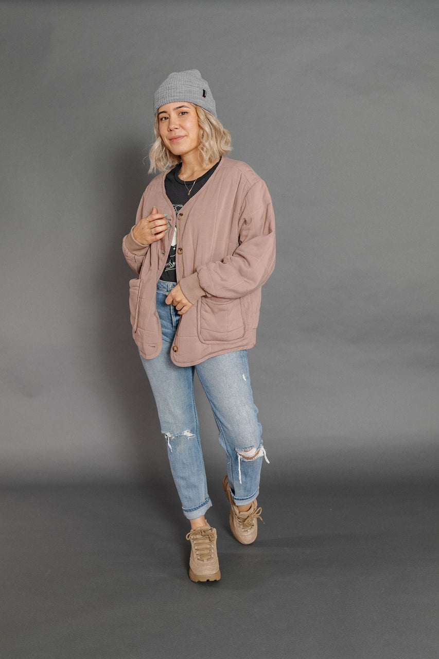 Tonia Jacket in Taupe