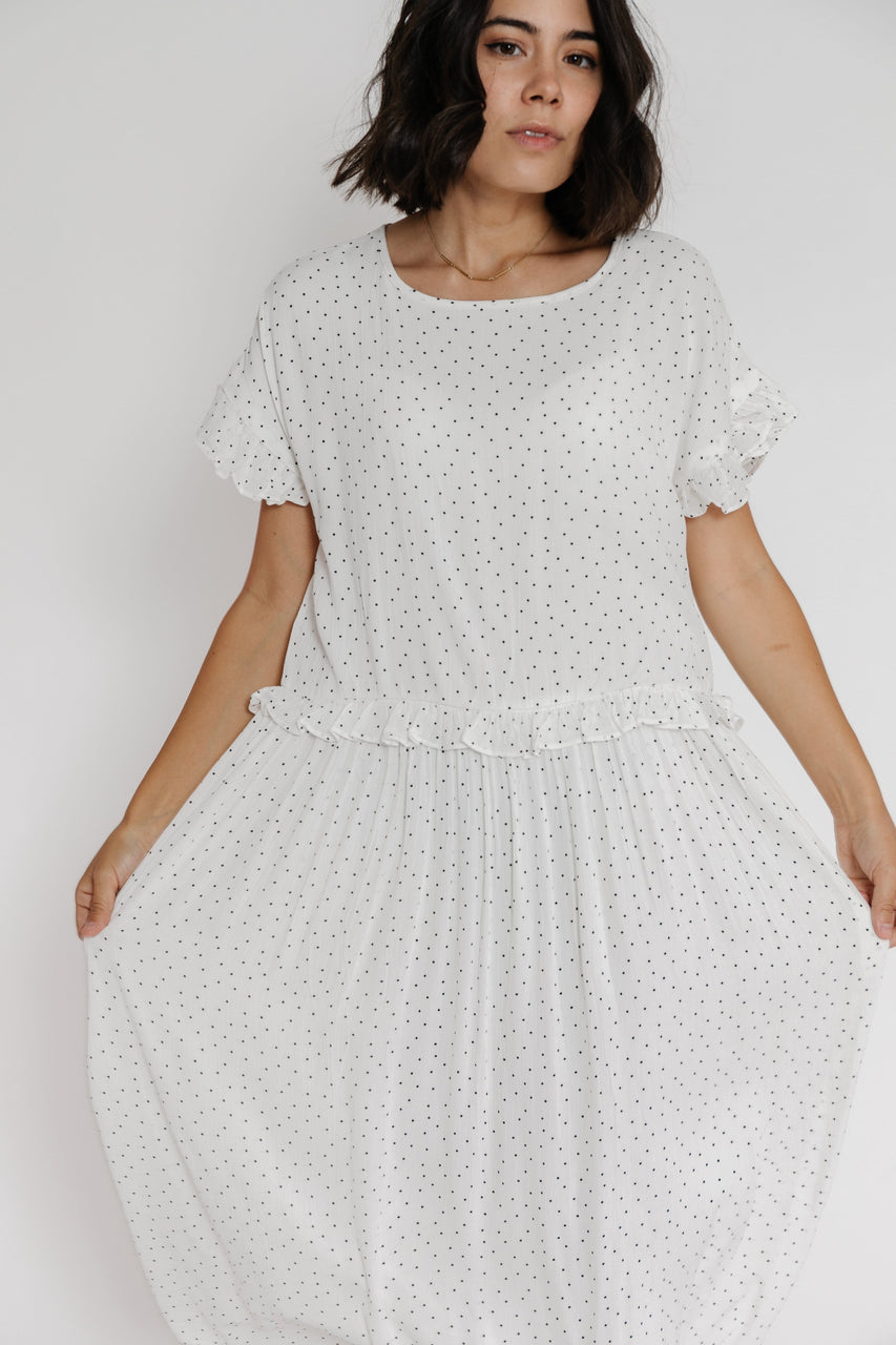 Traci Dress in Off White