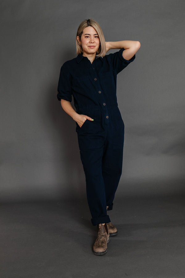 Winnett Jumpsuit in Indigo