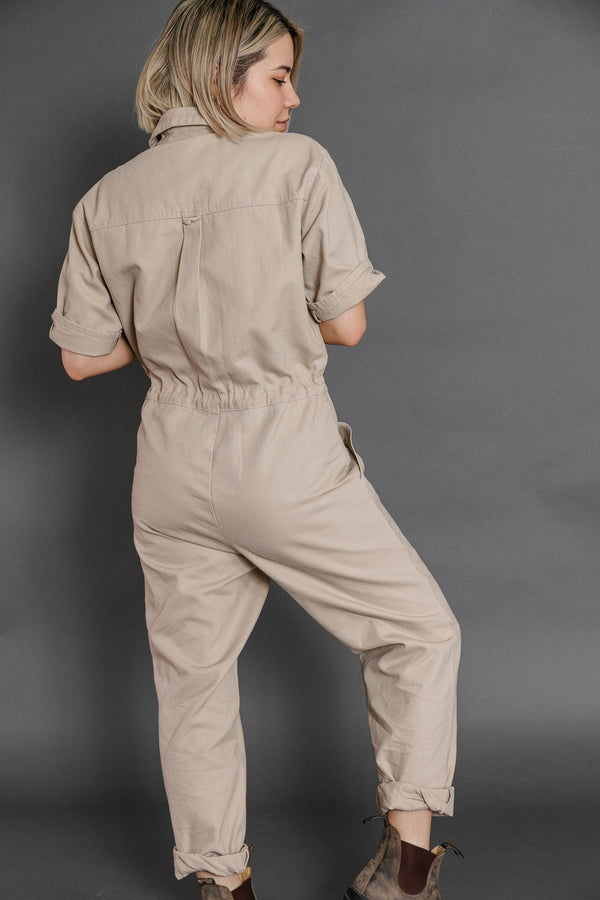 Winnett Jumpsuit in Taupe