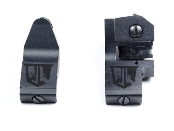 45 Degree Offset Backup Sights - Blemished
