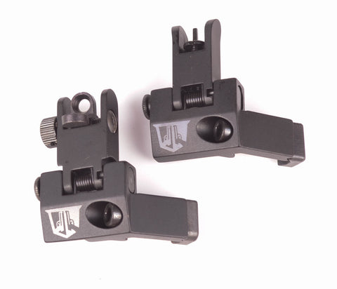 45 Degree Flip Up Backup Sights