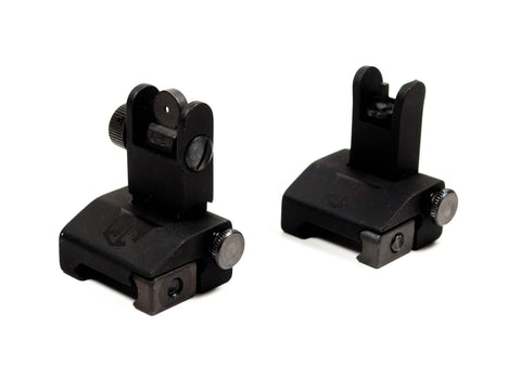 Flip Up Backup Iron Sights for AR-15 - Blemished