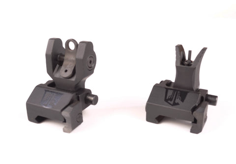 Micro Flip Up Backup Sights