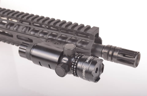Red Laser Sight System for Rifles