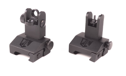Flip Up Backup Iron Sights for AR-15