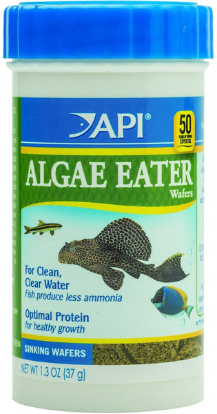 API Optimal Protein Algae Eater Sinking Wafers Fish Food