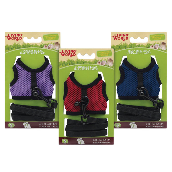 Living World Small Animal Harness & Lead