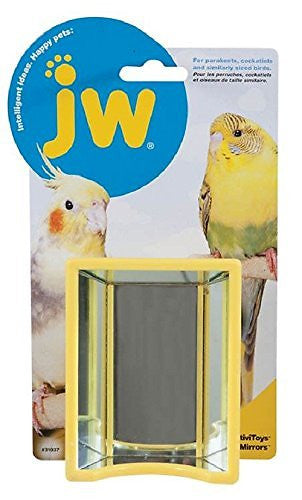 JW Pet Activitoy Birdie Hall of Mirrors Toy, Small/Medium