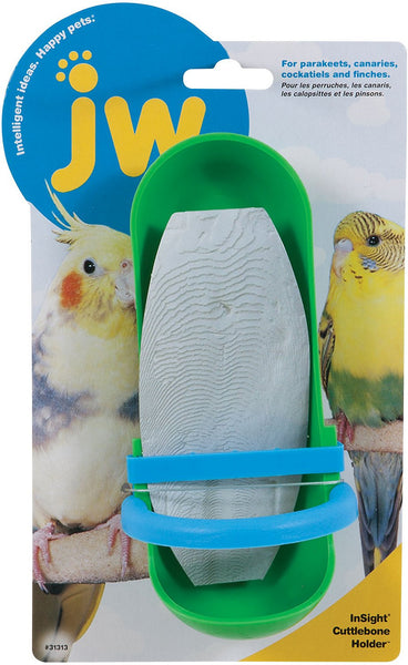 JW Pet InSight Cuttlebone Holder Bird Toy, Regular